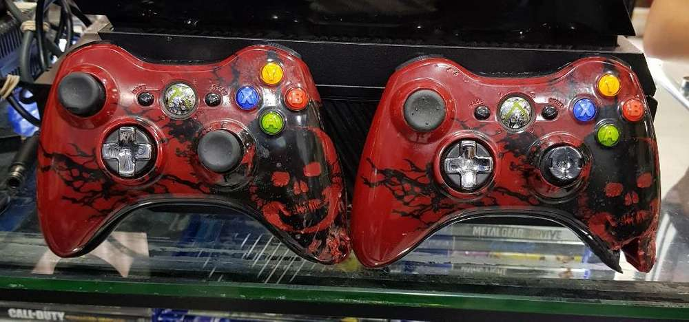 Controles Xbox 360 Gears 2 X 120