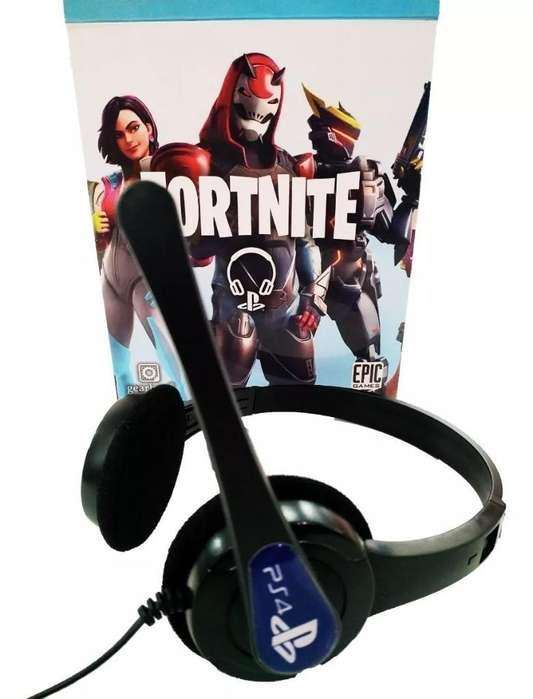 Auriculares Fortnite Aptos Psp4 Musica