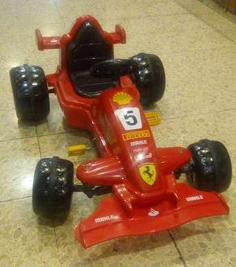 Auto a Pedal Ferrari Vettel