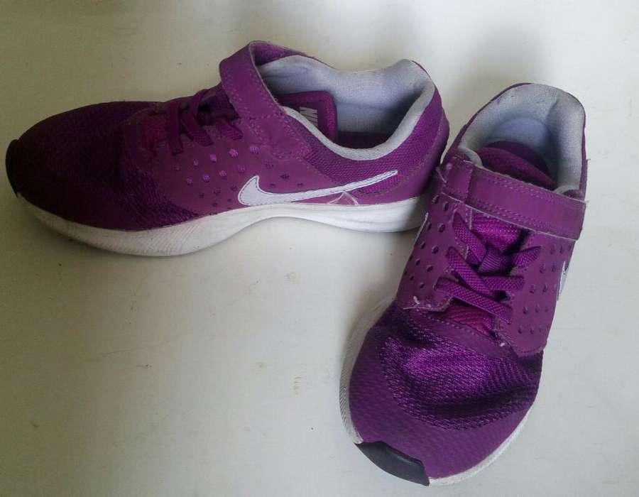Zapatilla Tennis Nike Niña Talla 33