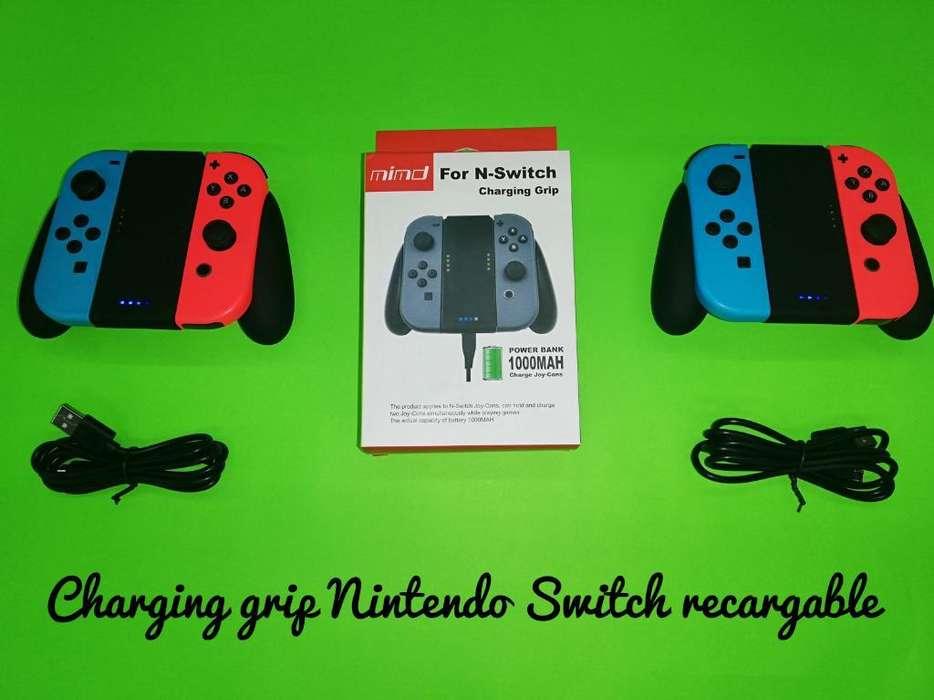 Charging Grip Nintendo Switch