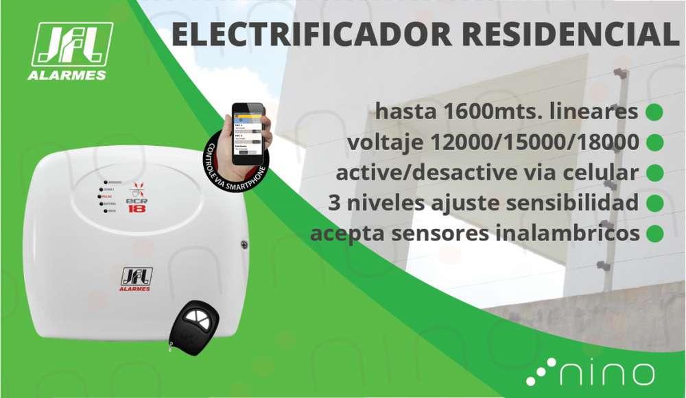 Electrificador para cerca eléctrica 1.6km