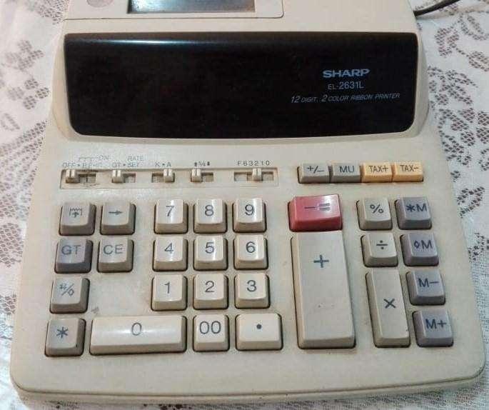 <strong>calculadora</strong> con Impresora 2 Colores Sharp El-2631 L
