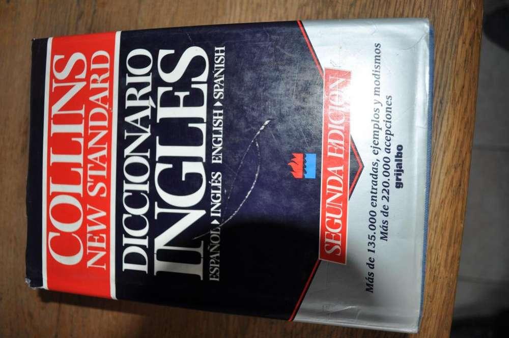 Vendo diccionario Español Inglés , Inglés Español COLLINS New Standard Segunda Edición