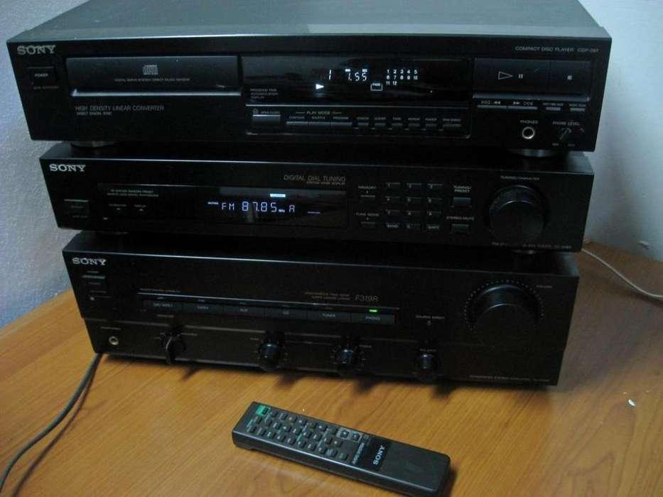 equipo Sony JAPAN ta f319r st s190 cdp 297 c rem en Martinez