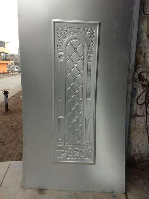 Planchas Zincadas con Diseño Tipo Madera