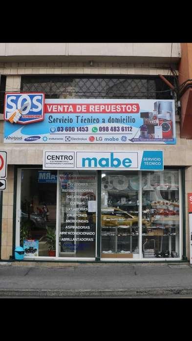REPUESTOS DE LAVADORAS, REFRIGERADORAS, SECADORAS, CALEFONES 0984836112