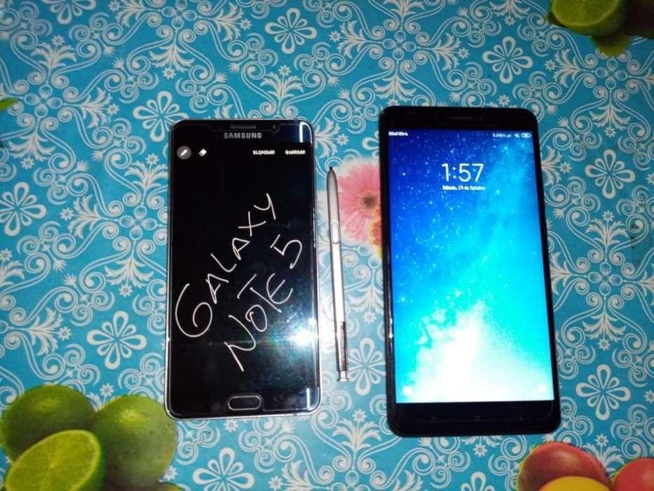 Galaxy Note 5 Y Xiaomi Mi Max 2, Cambio