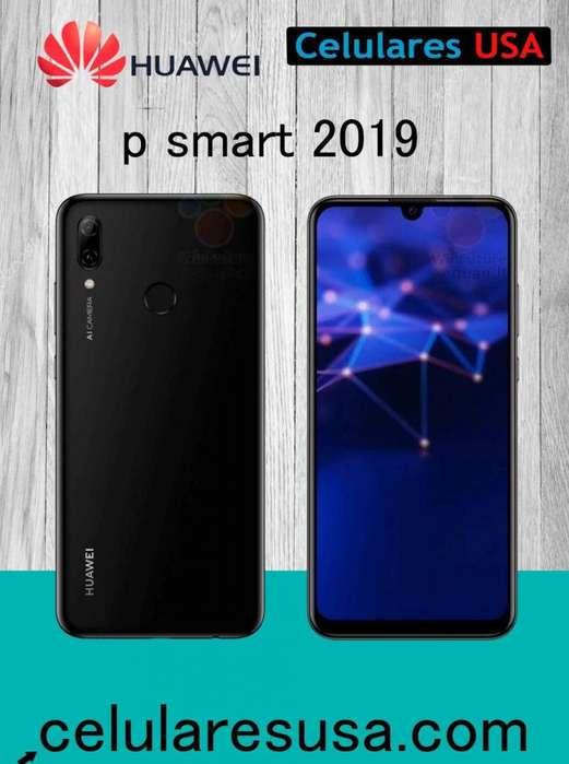 Huawei P Smart 2019 32gb Tienda San Borja. Garantía.