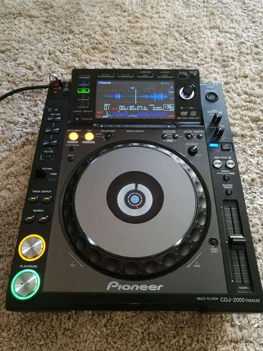 Vendo Pioneer Cdj 2000 Nexus En Perfecto Estado