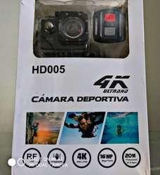 Camara Deportiva 4k