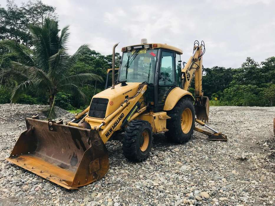 vendo retroexcavadora - gallineta new holland 675e