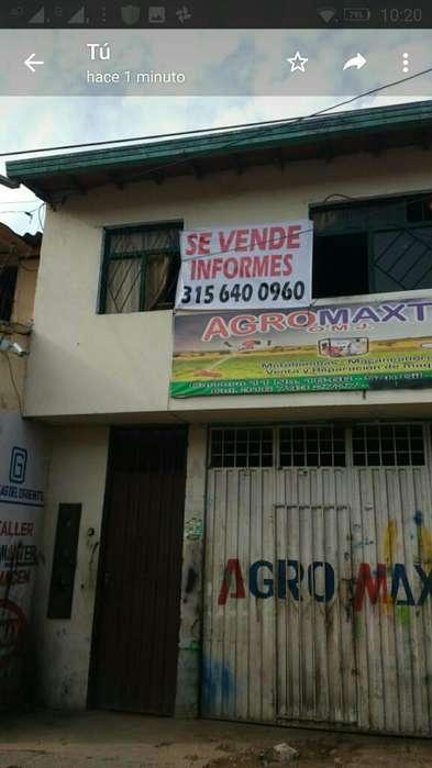 Vendo Casalote en El Centro de San Gil