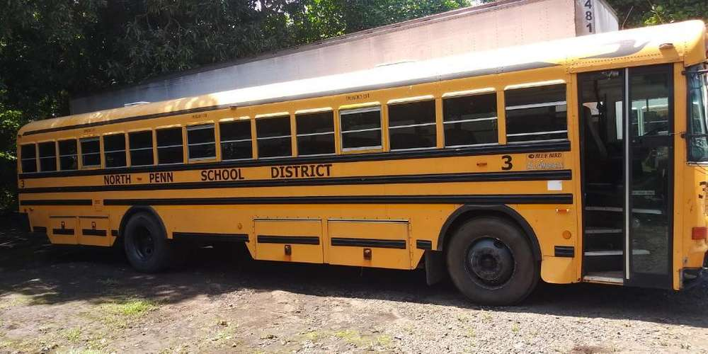 Vendo Bus Blue Bird All American