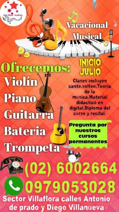 Vacacionales Academias de Musica