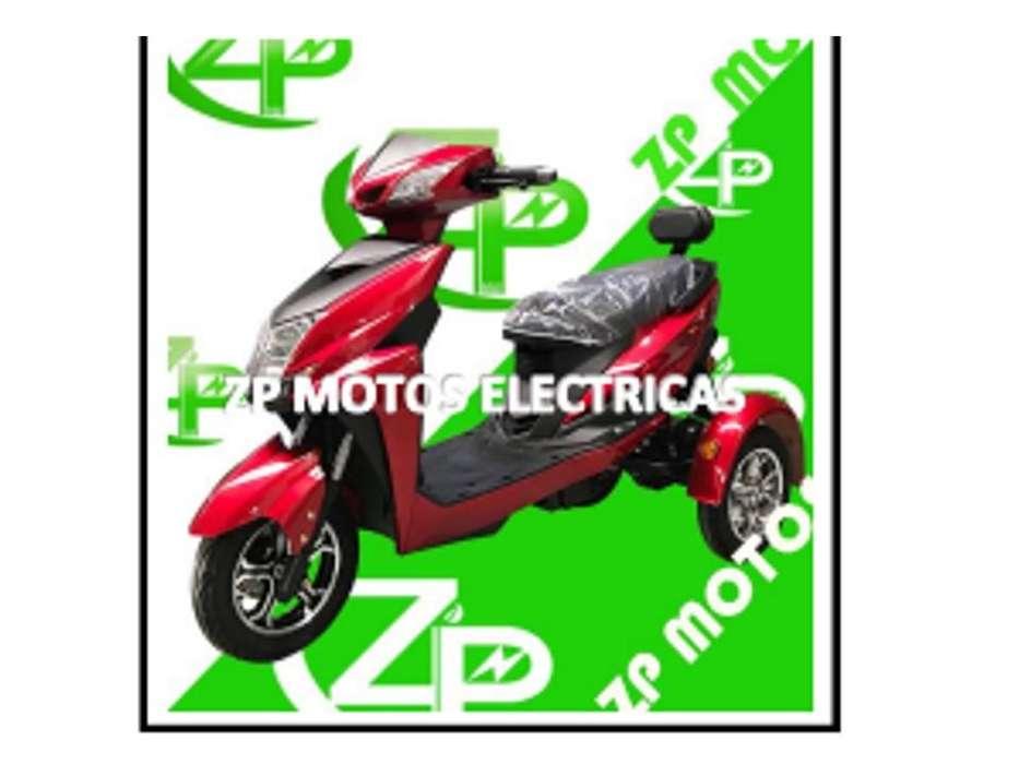 MOTO TRES REUDAS ELECTRICA MARCA ZP
