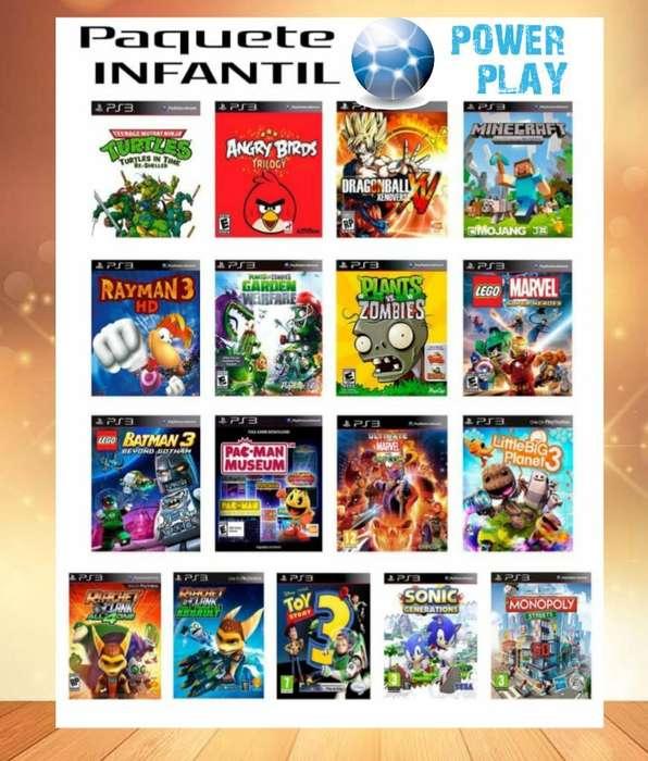 Juegos Originales Play 3 Entrga Inmediat