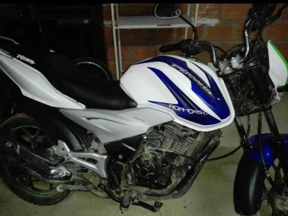 Moto Discover St 125, 1700 Negociables