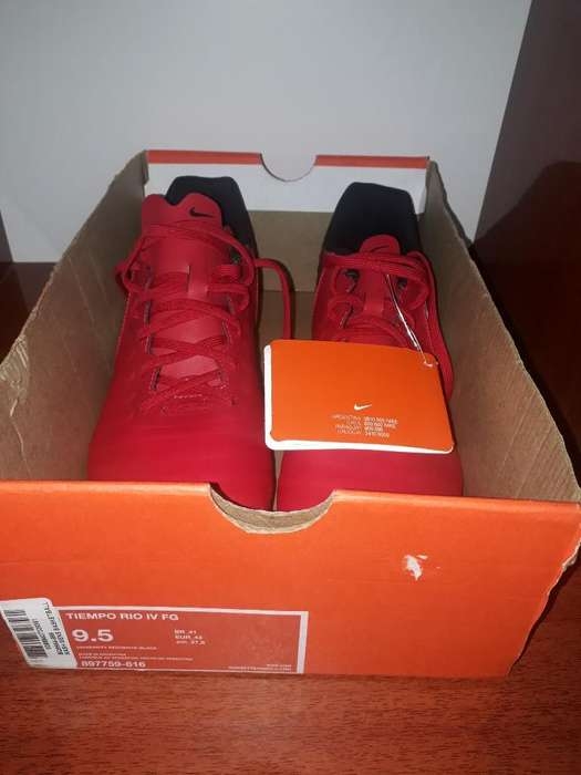 Botines Nike Tiempo Rio Iv Fg Originales