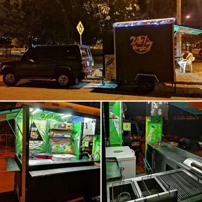 Foodtruck O Trailer Comidas Rapidas