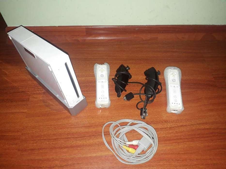 Nintendo Wii Usado con Palancas Extras