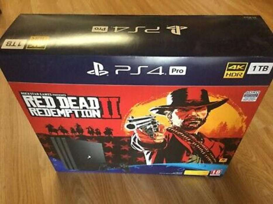 Playstation 4 Red Dead Redemption Nuevo