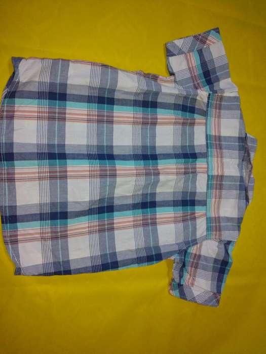 Camisa Niño Marca FG Kids Talla 10