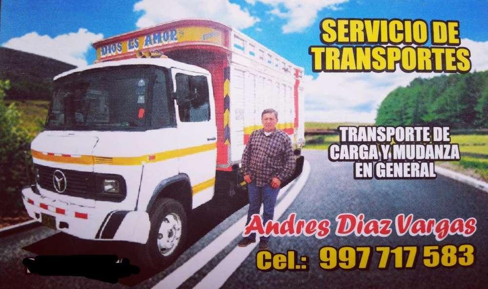 Transporte Carga Y Mudanzas