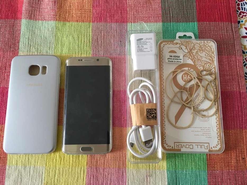 Samsung S6 Edge 32gb Refurbished Dorado - Como Nuevo!!!