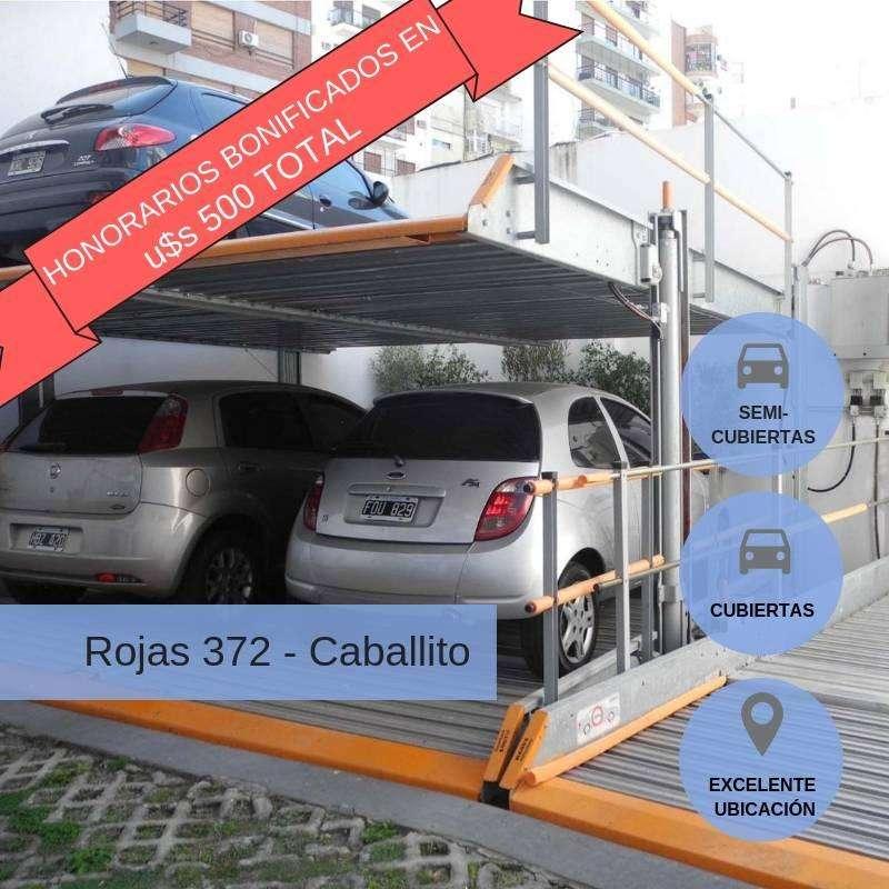 Inversión en Cocheras en Pesos! FINANCIADAS En construcción con renta inmediata. Invertí hoy, anticipo (US 5.000)