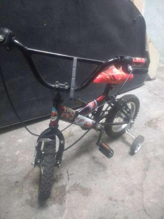 Bicicleta para Niño de Cars