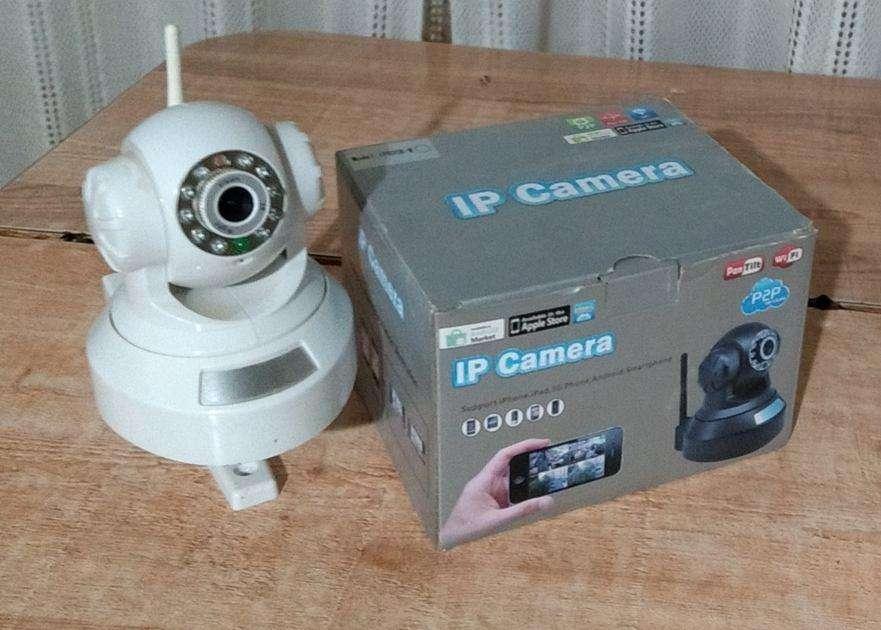 Camara Seguridad Inalambrica Ip Wifi P2p Motorizada