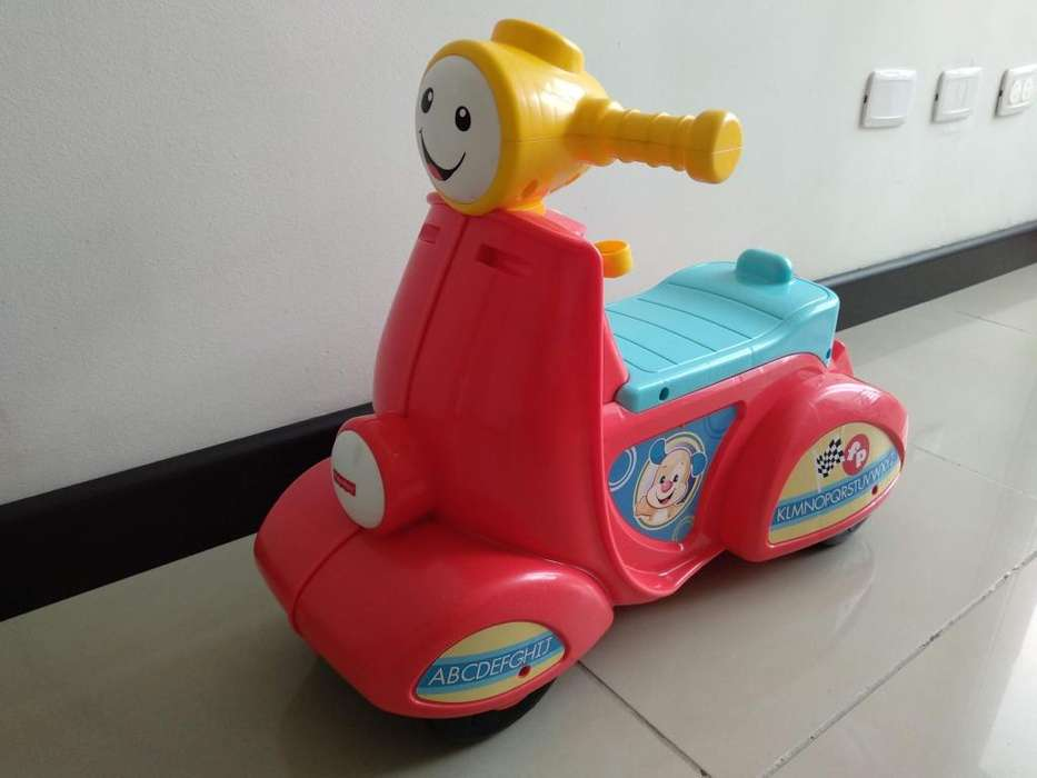 Moto de Juguete Fisher Price