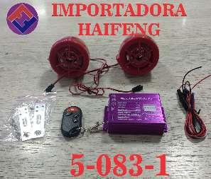 ALARMA PARLANTE MP3 MOTO HAIFENG