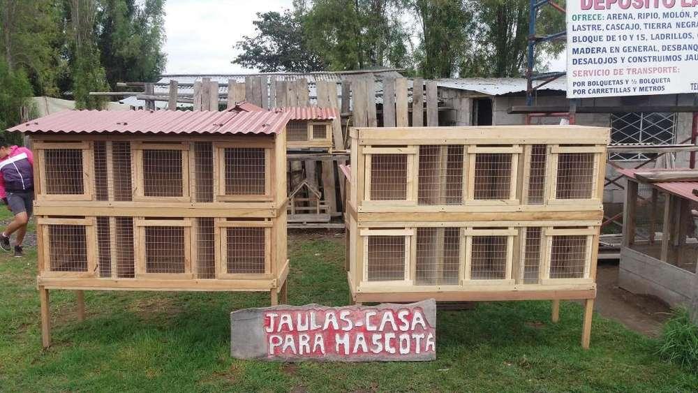 Jaula 6 Casilleros para Gallos