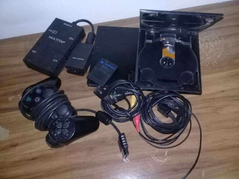 Ps2 Completa, Multitap Y Dos Memory Card