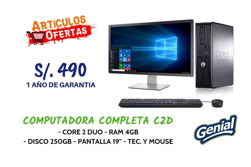 Computadoras De Escritorio X MAYOR Y MENOR, Core 2 Duo, i3, i5, i7. Desde S/. 490 PARA COLEGIOS, UNIVERSIDADES, OFICINA