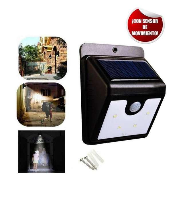 Luz Led Exterior Energia Solar Sensor Movimiento Ever Brite nueva 3143393760