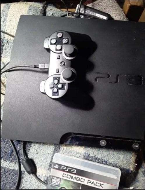 Playstation 3 slim completa con juegos