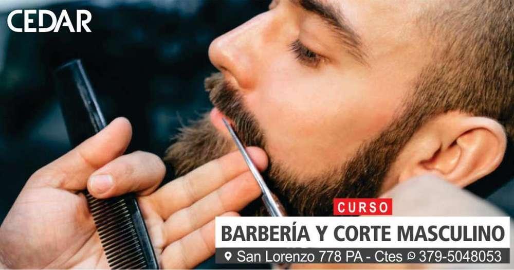 CURSO: BARBERÍA Y CORTE MASCULINO