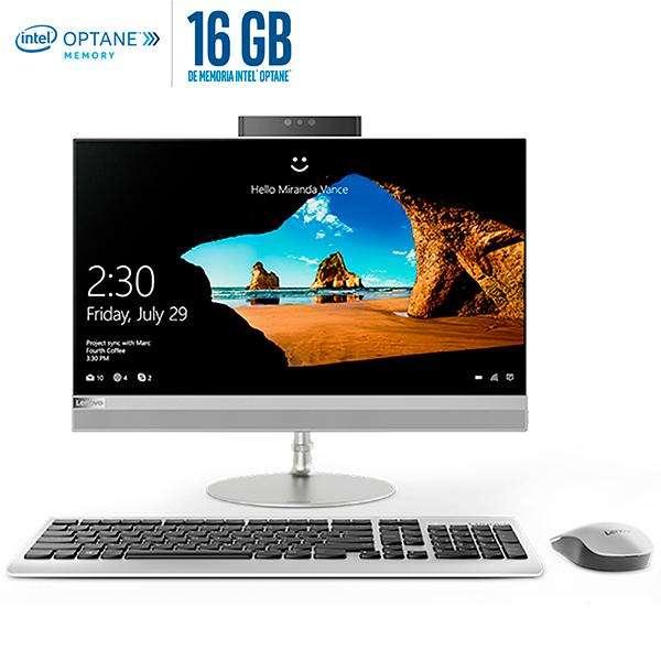 Computador Aio Lenovo Intel Core I5 8ta. 4gb 1tb 24 Pulgadas