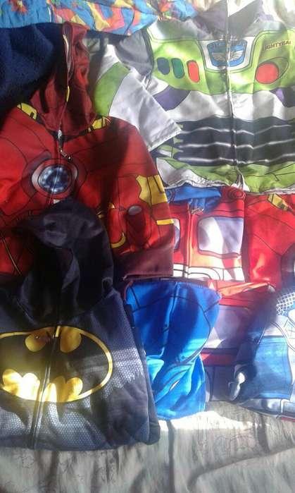 Chaquetas para Ninos de Super Heroes