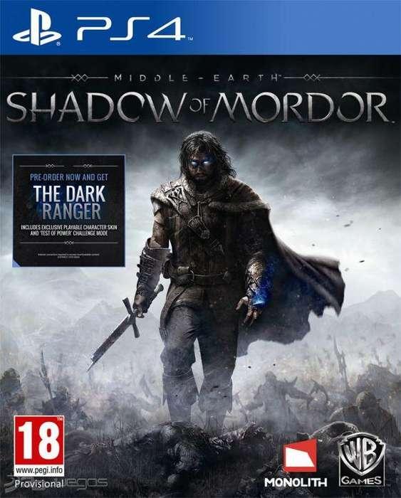 Shadow Of Mordor-Nuevo PS4
