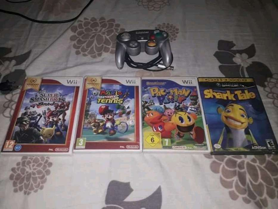 Vendo Todo Los Juegos de Wii Control