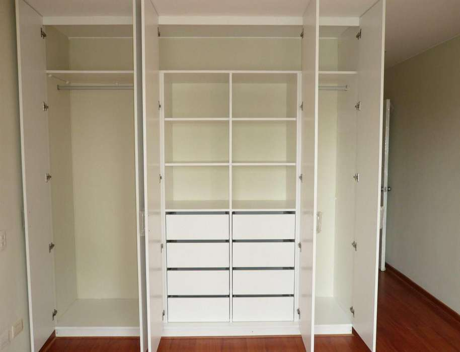 CLOSETS - CLOSETS DE MELAMINA - ROPEROS - WALKING CLOSE - MUEBLES PARA BAÑOSTS