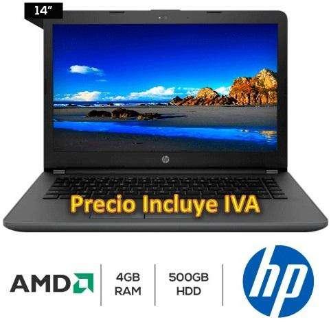 Oferta Laptop Portatil Hp 245 G6 Quad Core 4gb 500gb, I3/i5/i7 PRECIO INCLUYE IVA ENTREGA A DOMICILIO