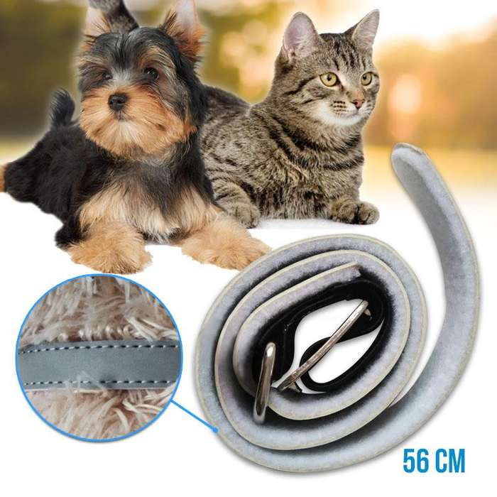 Collar Anti pulgas Parásitos Perro Gatos 56cm Extracto de Margosa RF 645