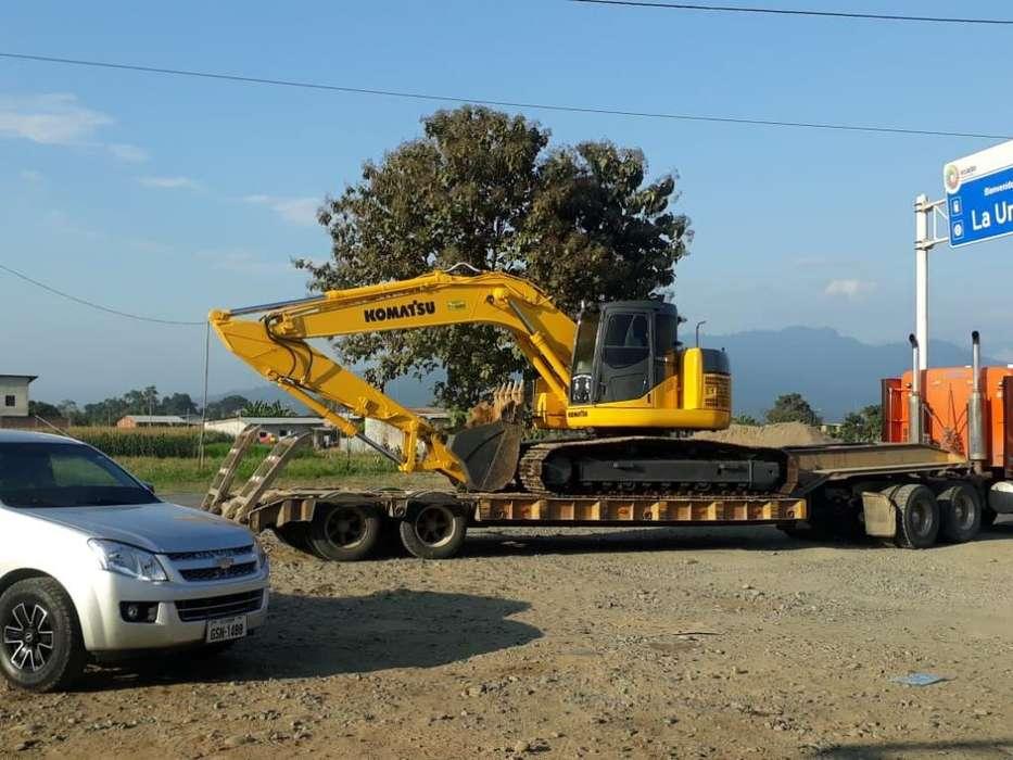 Vendo Excavadora Komatsu por Arreglar