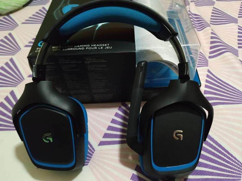 Logitech G403, Audio 7.1 Virtual
