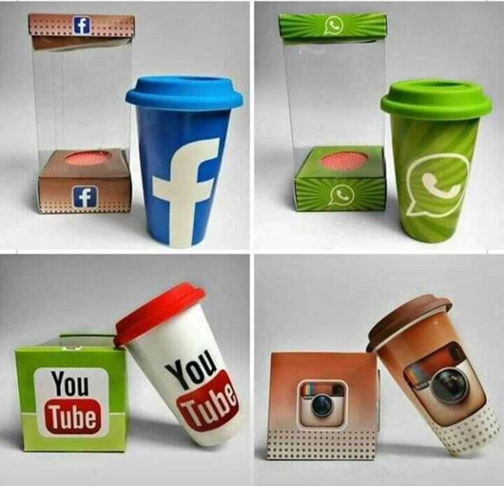 Tazas Redes Sociales